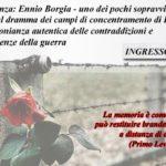 Giornata della Memoria: domani incontro con un sopravvissuto di Dachau