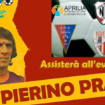 Pierino Prati all'Aprilia Sporting Village per un'Epifania all'insegna del calcio