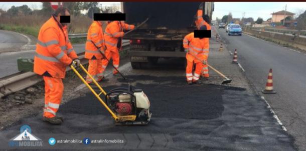 buche pontina asfaltatura