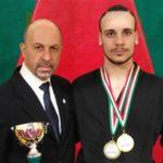 Emanuele Casilli sempre più ragazzo d'oro del karate apriliano