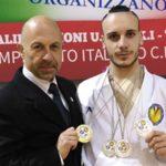 Altre 4 medaglie per Emanuele Casilli