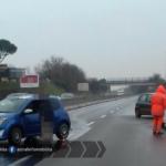 Incidente sulla Pontina all'altezza di Castagnetta: due i veicoli coinvolti
