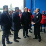 Zingaretti visita protezione civile