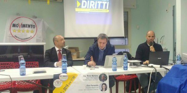 movimento 5 stelle no autostrada roma latina