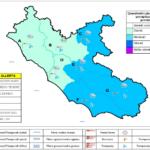 Allerta meteo: oggi e domani codice giallo in tutto il Lazio