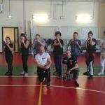 A lezione dal campione: Emanuele Casilli docente di difesa personale dei suoi compagni di scuola