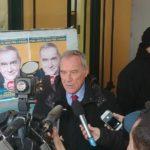 Pietro Grasso ad Aprilia con i candidati di Liberi e Uguali