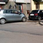 Incidente in Via Galilei, due vetture coinvolte