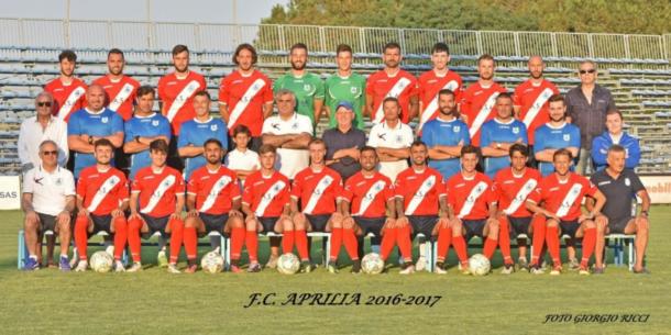 fc aprilia squadra 2017