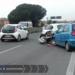Incidente tra due auto, Pontina bloccata in direzione Roma