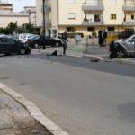 Incidente a Via Augusto, in ospedale i conducenti delle due auto