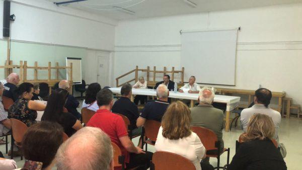 Incontro-Toscanini sindaco terra