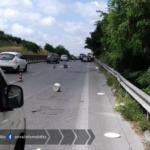 Incidente sulla Pontina, rallentamenti nella zona di Aprilia