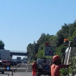 Lavori sulla carreggiata sud della Pontina, a Pomezia si viaggia su una sola corsia