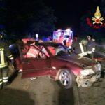 Scontro tra due auto a La Gogna, feriti i conducenti