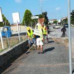Pulizia di marciapiedi e scoline a Casalazzara: crescono le adesioni dei volontari