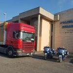 Camionista straniero denunciato per manomissione del cronotachigrafo