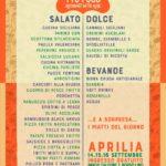Il Festival dello Street Food si avvicina. I 25 chef pronti a portare ad Aprilia le loro specialità