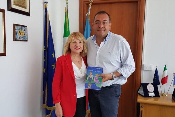 Incontro sindaco terra franca Palmieri