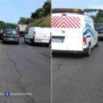 Auto in avaria sulla Pontina, disagi in direzione Latina