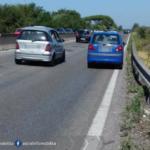 Auto in panne sulla Pontina, possibili code in direzione Roma