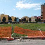 Al via i lavori nell'area verde di Via Diocleziano