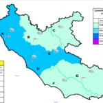 Forti venti e piogge: allerta meteo per la giornata odierna nel Lazio