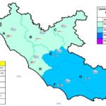 Nuova ondata di maltempo prevista per domani sul Lazio