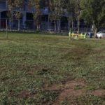 Lavoro di squadra per la manutenzione del parco di Via Grecia