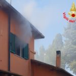 Incendio in casa, paura a Vallelata