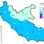 Allerta meteo nel Lazio: la zona di Aprilia è in codice arancione