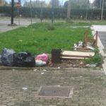 Nuovi casi di abbandono dei rifiuti al quartiere Toscanini
