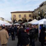 Raccolta dolci per la Befana: un successo il primo appuntamento al mercatino di Piazza Roma