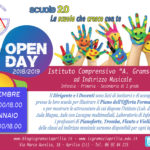 "Primo Open Day all'Istituto Comprensivo ""Gramsci"""