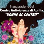 -7 all'inaugurazione al Centro Antiviolenza di Aprilia