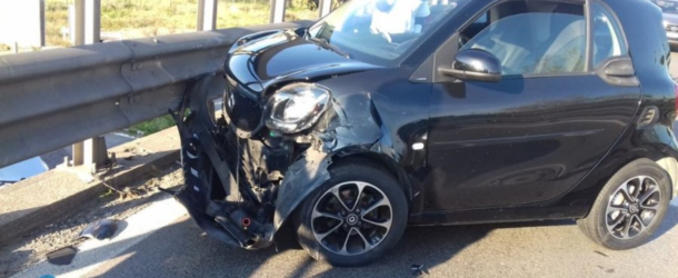 pontina smart incidente