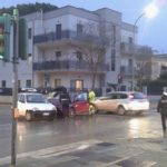 Ultim'ora – Incidente al semaforo, traffico in tilt a via De Gasperi