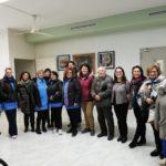 Gli utenti del Centro Alzheimer fanno visita all'infiorata presso Villa Silvana