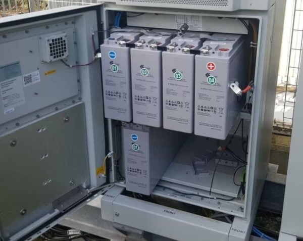 batterie tampone furto wind