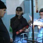 Visita alle Botteghe dei carri di Carnevale. Arriva il Ministro Matteo Salvini