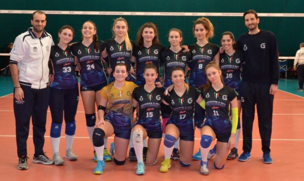 foto squadra D giò volley