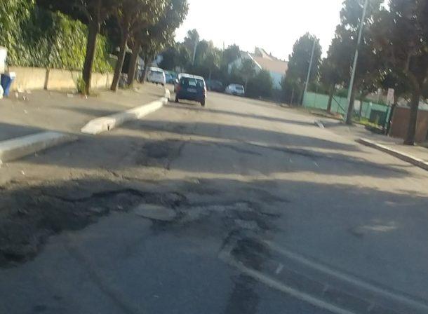 via diocleziano strade buche