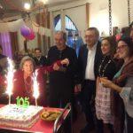 A Villa Sihem si festeggiano i 105 anni di Vita Italia Di Liberto