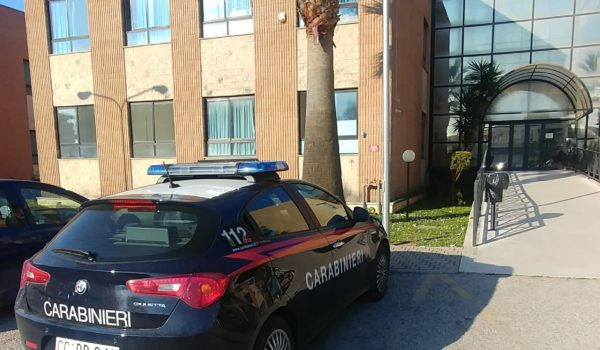 furto asl carabinieri