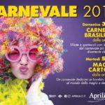 Aprilia2 ospita il Carnevale brasiliano, spettacoli di magia e cartoon