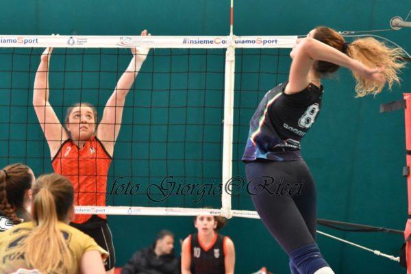 Team D Giò Volley - Il capitano Irene Boggian in azione