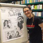 Nuovi talenti da Aprilia, l'artista Francesca Deodati protagonista al Romics