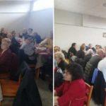 Il Centro Sociale Anziani Toscanini festeggia la Pasqua con i soci.