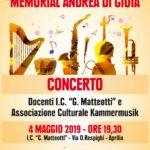 """Terza edizione del """"Memorial Di Gioia"""" all'istituto Matteotti di Aprilia."""
