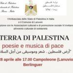 Ambasciatori della Palestina in visita a Campoleone il prossimo 28 aprile.